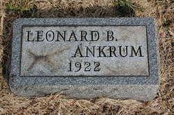 Burton Leonard Bert Ankrum