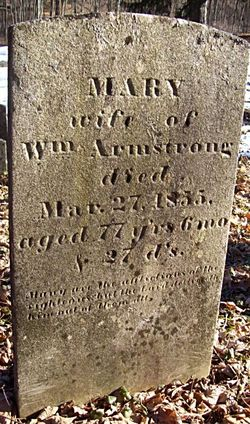 Mary Anne <i>Buckbee</i> Armstrong