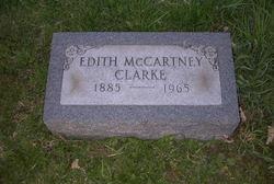 Edith <i>McCartney</i> Clarke