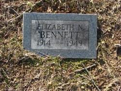 Elizabeth N Bennett