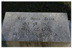Ruth <i>Davis</i> Trask