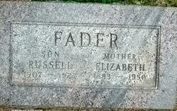 Emily Elizabeth <i>Ball</i> Fader
