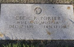 Cecil Rose <i>Russell</i> Porter