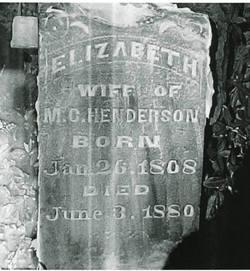 Elizabeth H. <i>Wiley</i> Henderson