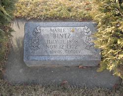 Mabel Marie <i>Grover</i> (Vining) Bintz