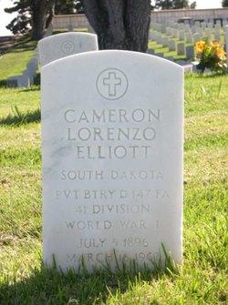 Cameron Lorenzo Elliott