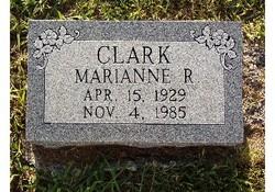 Marianne Victoria Ann <i>Reed</i> Clark