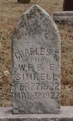 Charles F Simrell