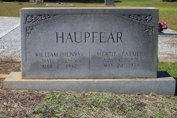 Mertie Lee <i>Farmer</i> Haupfear