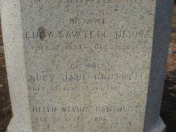 Abby Jane <i>Boutwell</i> Hawthorne