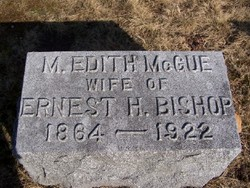 M Edith <i>McCue</i> Bishop