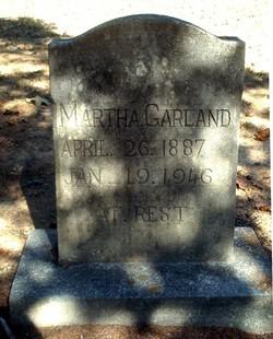 Martha <i>Hicks</i> Garland