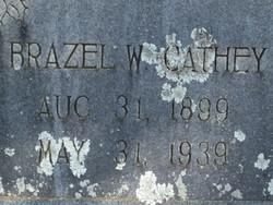 Brazel W Cathey