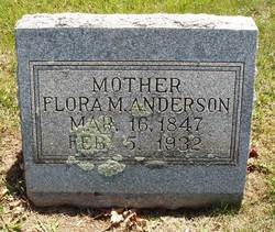 Flora Malcina <i>Wilson</i> Anderson