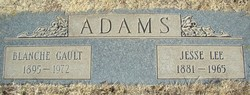 Blanche <i>Gault</i> Adams