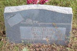 Betty Bevans