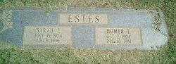Homer T Estes