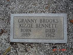 Kizzie Granny Brooks <i>Overcash</i> Bennett