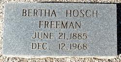 Bertha Hosch Freeman