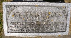 Rev Frank L. Brock