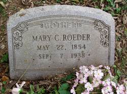 Mary Catherine <i>Allen</i> Roeder