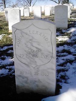 Pvt John Alexander