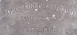Louis Lincoln Arnold
