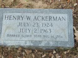 Henry W. Ackerman