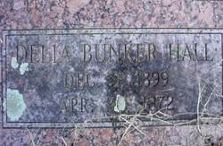 Delia <i>Bunker</i> Hall