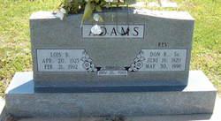 Lois B. <i>McCullar</i> Adams