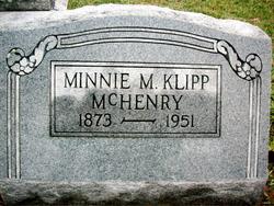 Minnie M <i>Klipp</i> McHenry