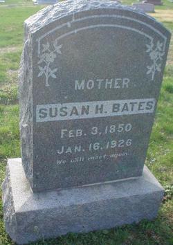 Susan Henrietta <i>Wood</i> Bates