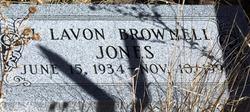 J. Lavon <i>Brownell</i> Jones