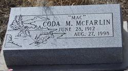 Coda M McFarlin