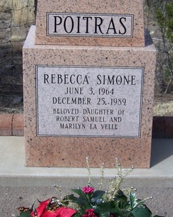 Rebecca Simone Simmie Poitras