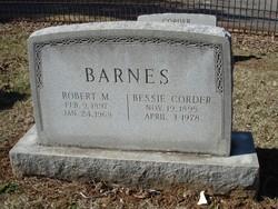 Bessie <i>Corder</i> Barnes