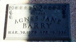 agnes jane barry added by  milejo77