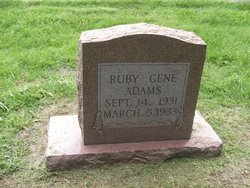 Ruby Gene Adams