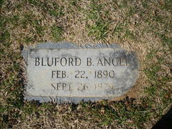 Bluford B Angel
