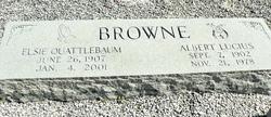 Elsie Jane <i>Quattlebaum</i> Browne