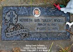 Kenneth William Willie Angell