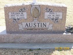 Lillian May Babe <i>Hall</i> Austin