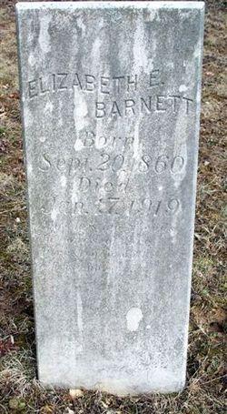 Elizabeth Ellen <i>Rudder</i> Barnett