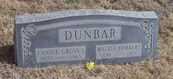 Fannie Belle <i>Groves</i> Dunbar