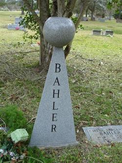 Hazel <i>Patterson</i> Bahler