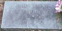 Helene Ulrich Williams