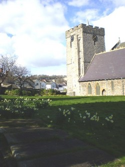 Churchyard of Oystermouth Parish Church