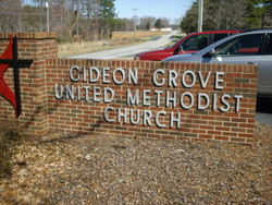 Gideon Grove United Methodist Church Cemetery