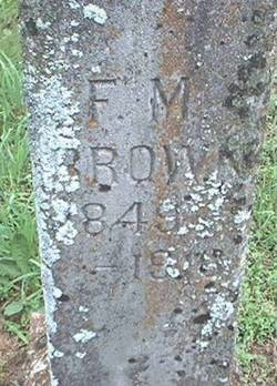 Francis Marion Brown