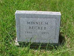Minnie M. Becker